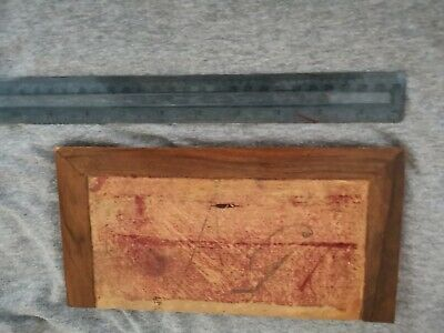 Antique/vintage Writing Slope Flap x 1
