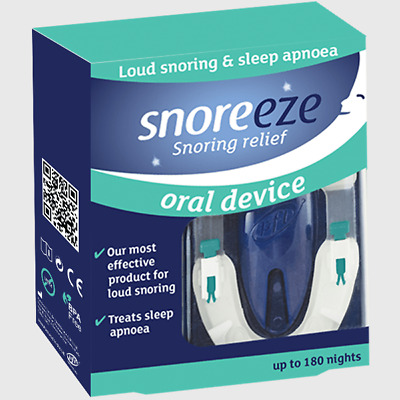 snoreeze snoring relief up to 180 nights
