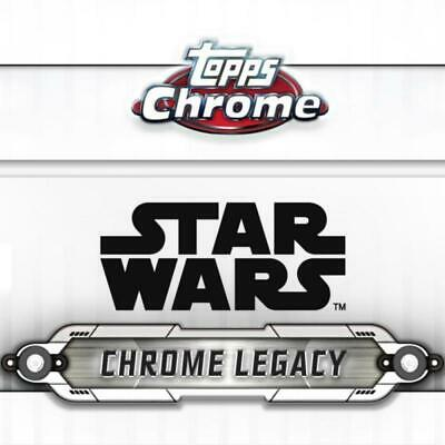 2019 Topps Chrome Star Wars Legacy Poster Cards Pick From List (All Versions)