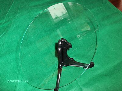 """NEW FLAT Round Clock Glass, CUT TO YOUR SIZE 14"""" to 20"""" Diameter."""