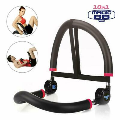 SYOSIN 10 in 1 Ab Machine Stomach Abs Core Trainer Fitness Workout Abdominal Exe