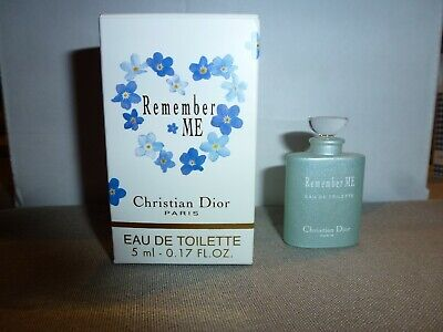 Rare miniature Remember me DIOR EDT 5 ml
