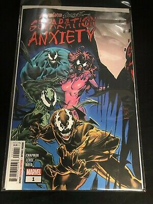 ABSOLUTE CARNAGE SEPARATION ANXIETY 1A MAIN FIRST 1st print NM NEW