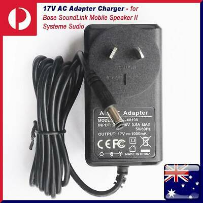 17V AC Charger Adapter Cord For Bose SoundLink Mobile Speaker II Systeme Sudio