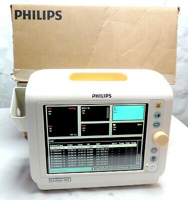 Philips SureSigns VS3 Vital Signs Patient Monitor Medical
