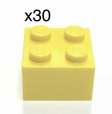 Part 3003 Element 300324 Qty:25 New Lego Yellow Brick 2x2