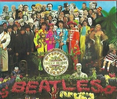 The Beatles Sgt.pepper's Lonely Hearts Club Band Cd Album W/Booklet + Slipcase