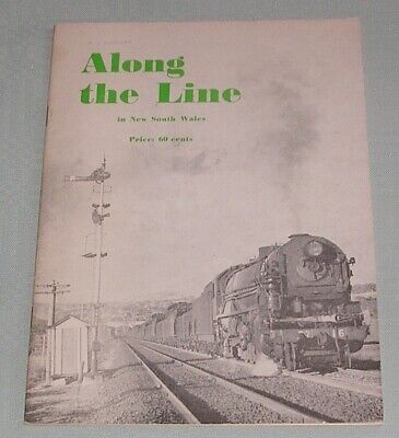 Along the Line in New South Wales, by J Richardson, SC book, Gd-VG Cond