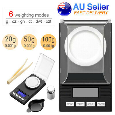 High Precision Digital Pocket Scales 100g/0.001g Jewellery Gold Scale Milligram