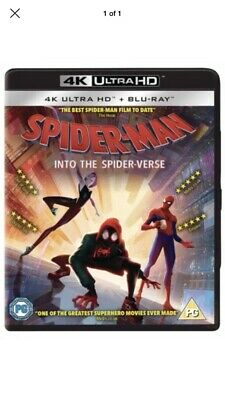 SPIDERMAN INTO THE SPIDERVERSE 2 DISCS Free Delivery 🚚