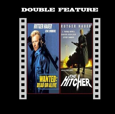 The Hitcher / Wanted Dead Or Alive ( Rutger Hauer ) compatible in R2 NEW DVD