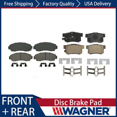 Rear Ceramic Brake Pads 2SET For Acura RDX 2013 2014 2015 2016 2017 Front