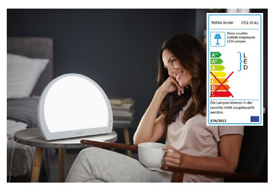 Light Therapy LED Daylight Lamp. Seasonal Affective Disorder. 20W 10,000 LUX