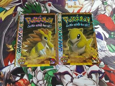 Lot de Carte Pokemon EVOLUTION Sabelette Sablaireau set De Base Holo