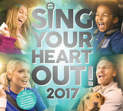 Sing Your Heart Out 2017 (Various Artists) [New & Sealed] 2CD Digipack
