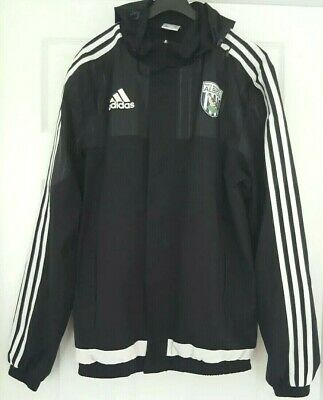 *NEW* West Bromwich Albion FC - Detachable Hooded Training Jacket - Adult - S