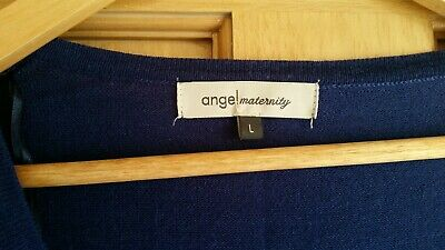 Maternity CLEAR OUT! ANGEL L 14 wool knit top