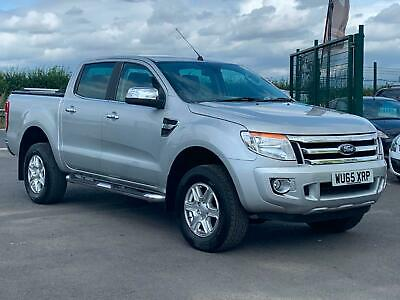 Ford Ranger Limited 4X4 2.2Tdci 150Bhp Double Cab Pick Up In Silver.