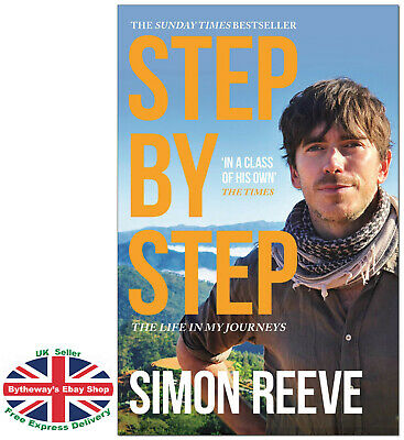 STEP BY STEP Simon Reeve PAPERBACK *BRAND NEW*