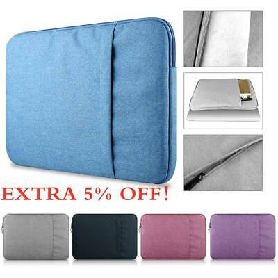 Pouch Laptop Bag Sleeve Case Cover For MacBook Air Pro Lenovo HP Dell Asus