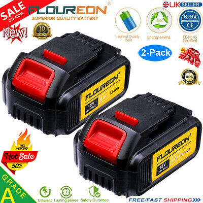 2x 5.0AH 18V/20V XR Li-ion Battery for Dewalt DCB184 DCD785 DCB181 DCF885 DCB200