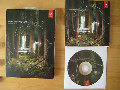 Adobe Lightroom 5 deutsch Windows / Mac DVD Vollversion RETAIL