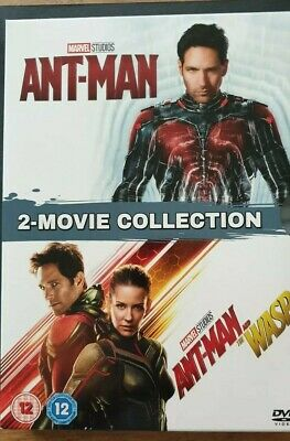 Ant-Man and Ant Man and the Wasp 2 movie collection DVD