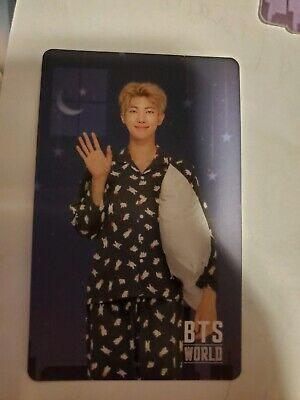 BTS - WORLD OST OFFICIAL RM Namjoon OFFICIAL GAME COUPON PHOTO CARD KPOP UNUSED
