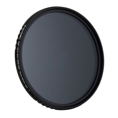 ZOMEi Fader ND Neutral Density Adjustable Variable Filter (ND2 to ND400) D7P2