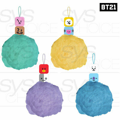 BTS BT21 Official Authentic Goods Figure Shower Ball By YUYU + Tracking Number