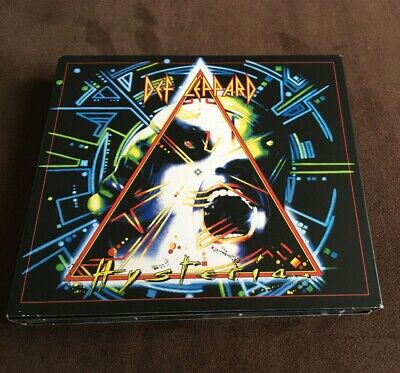 Def Leppard Hysteria  EXPANDED DELUXE DIGIPAK 3 CD SET