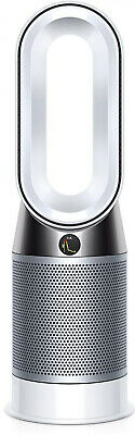 Air Purifier Hot & Cool Tower Type Filtered White Portable Electronic w/ Remote