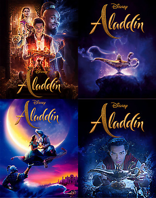 Magnet cover for steelbook Aladdin Blu-ray