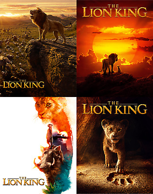 Magnet cover for steelbook The lion King Blu-ray Multi Language (En/Es/Fr)