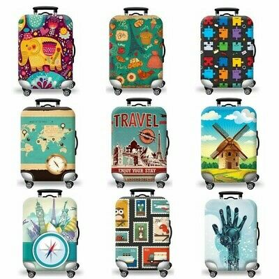"""Protector Cover Case for 18""""- 30"""" Luggage Suitcase Solid Elastic Stretch Fabric"""