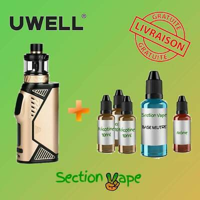 Cigarette electronique Uwell Hypercar Gold  + 1 Kit Diy 60ml