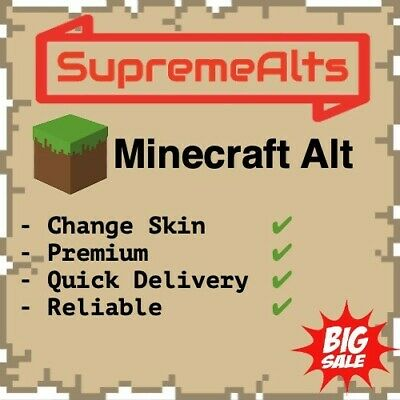 Minecraft Java Premium Account FAST EMAIL DELIVERY! (Windows, Mac OS, Linux)