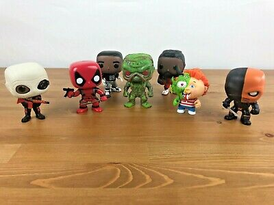 Funko POP Mixed Lot Of 7 Used Loose
