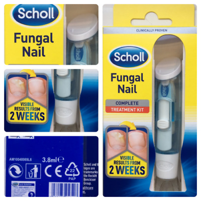 ORIGINAL SCHOLL Fungal Nail complete Treatment 3.8ml visible results from 2weeks