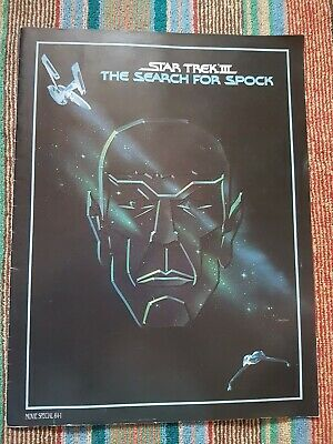 Star Trek III 3 THE SEARCH FOR SPOCK movie Special 84-1