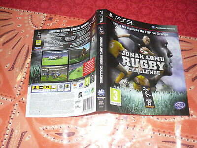 jacquette Jonah Lomu Rugby Challenge ps3