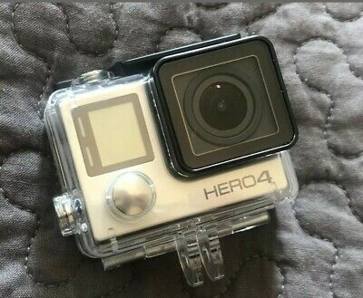 GoPro Hero 4 Silver  Waterproof Cover  With 32gb card and tripod