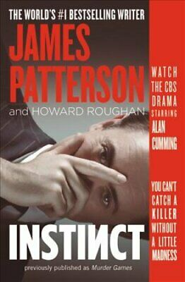 Murder Games by James Patterson and Howard Roughan (2018, Paperback)