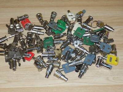 Large Lot of Vending Gumball Machine Keys and Locks