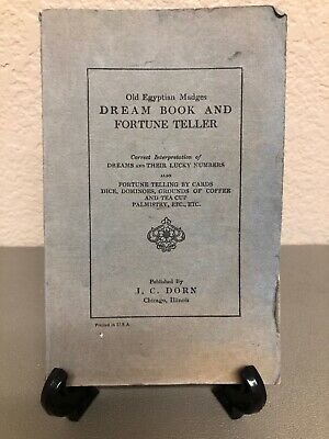 Old Egyptian Madges Dream Book and Fortune Teller