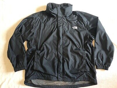 The North Face Black Waterproof Jacket. Mens Size XXL