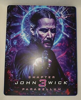 Custom Steelbook John Wick 3 ParaBellum  Bluray Empty