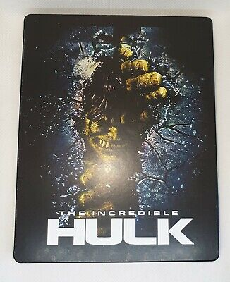 Custom Steelbook The increible Hulk  Bluray Empty