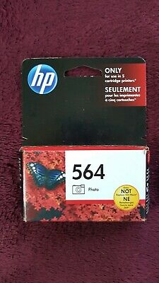 HP 564 Photo Ink Cartridge - SEALED - 564 Genuine OEM - EXP. OCT. 2020 B2