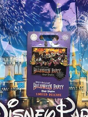 Disney Mickey's Not So Scary Halloween Party 2019 Event LE Pin In Hand